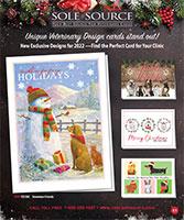 Veterinary Holiday Card E-Catalog