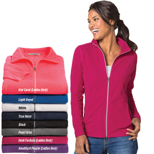 Ladies Port Authority Microfleece Jacket