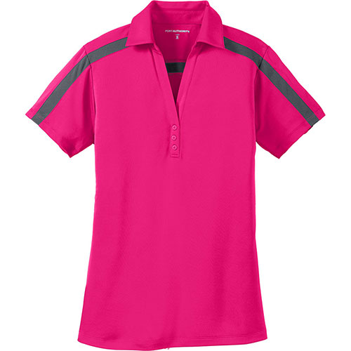 P/A Sport Ladies Silk Touch Colorblock Stripe