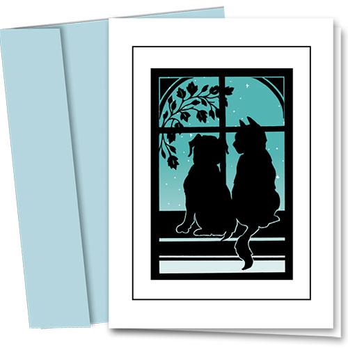 Pet Sympathy Cards - Peaceful Pets