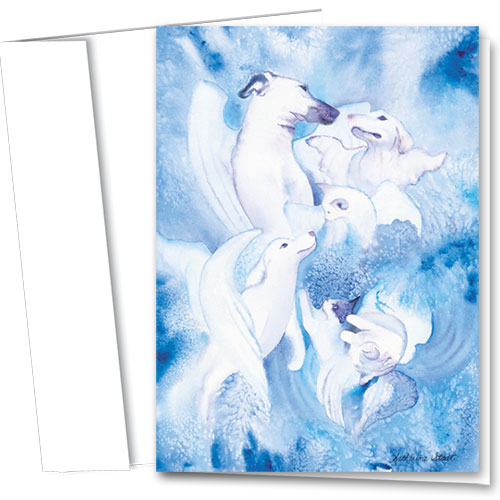Pet Sympathy Cards - Angels