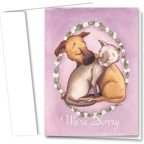 Pet Sympathy Cards - Comfort
