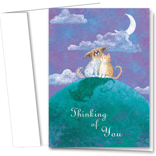 Pet Sympathy Cards - Moonlight