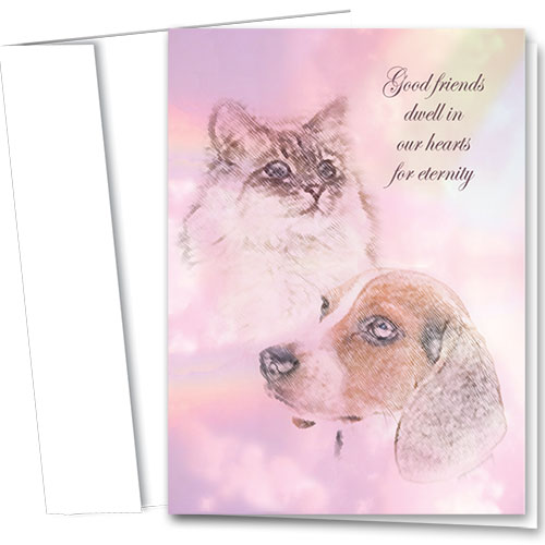 Pet Sympathy Cards - Eternity