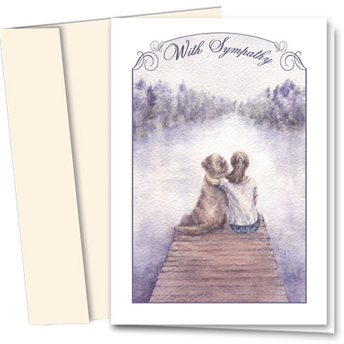 Dog Sympathy Cards - Best Friends