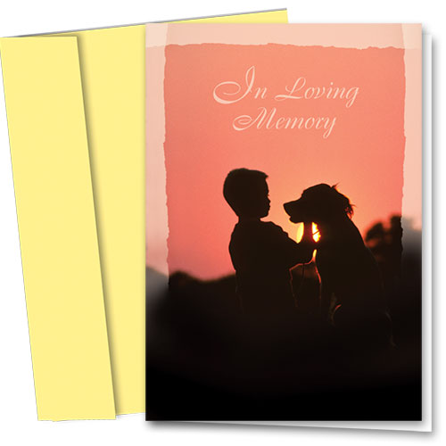 Dog Sympathy Cards - Best Memories