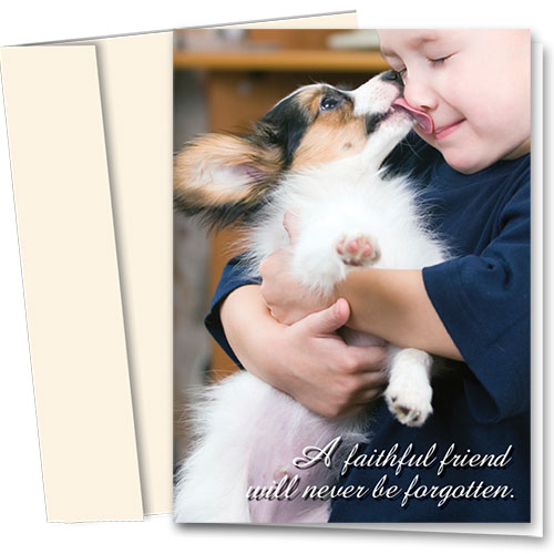 Pet Sympathy Cards - Faithful Friend
