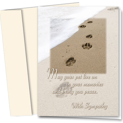 Dog Sympathy Cards - Your Memories