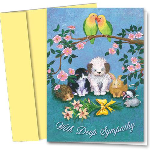 Pet Sympathy Cards - Critter Comfort
