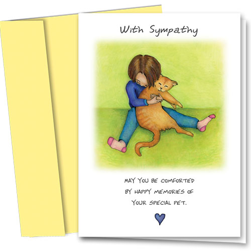 Cat Sympathy Cards - Special Cat
