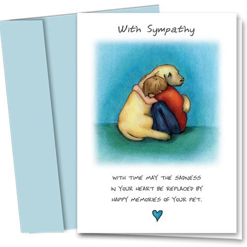 Dog Sympathy Cards - Special Dog