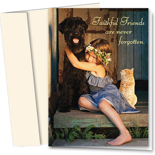 Pet Sympathy Cards - Precious Ones