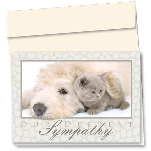 Pet Sympathy Cards - Soft Sympathy