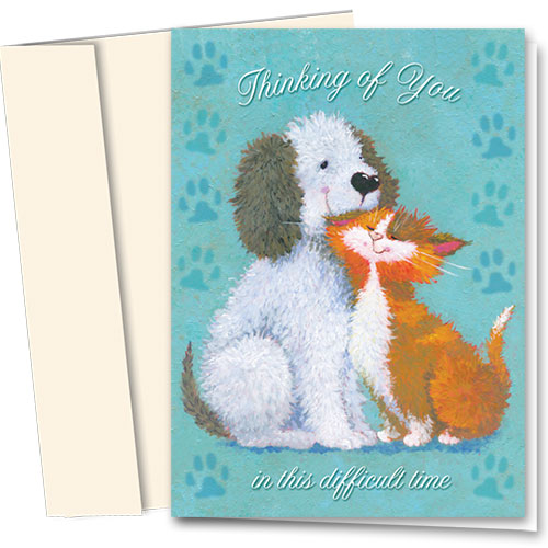 Pet Sympathy Cards - Comforting Thoughts
