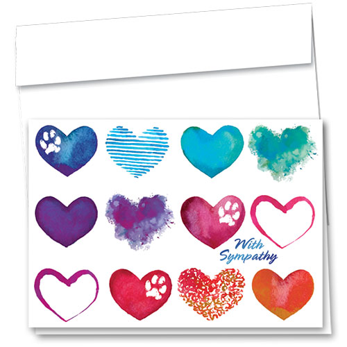 Pet Sympathy Cards - Shades of Love
