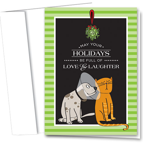 Veterinary Holiday Cards - Holiday Laughter