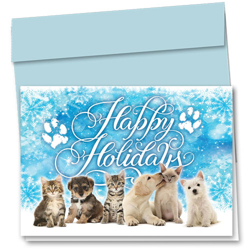 Veterinary Holiday Cards - Icy Holidays