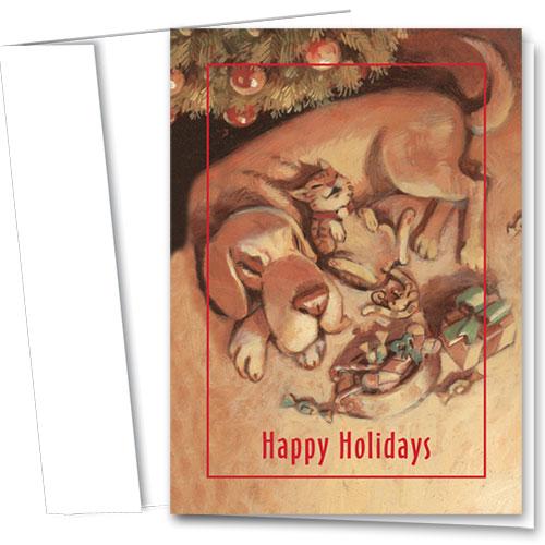 Veterinary Holiday Cards - Warm Glow