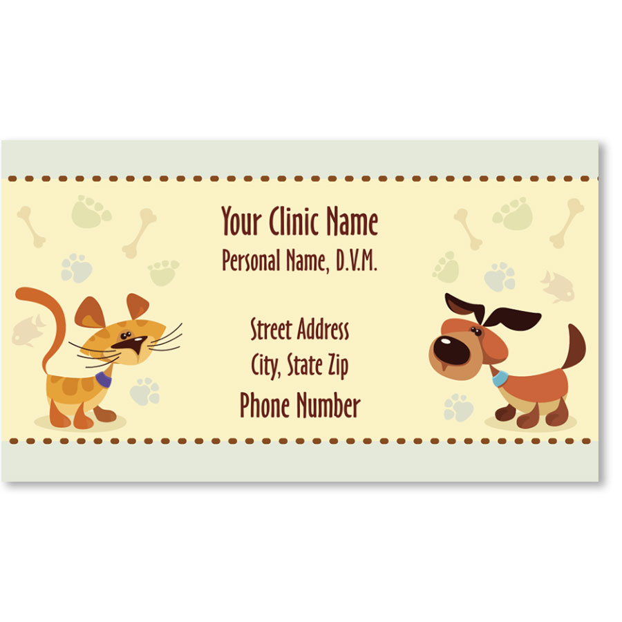 Veterinary Business Cards - Don't Forget