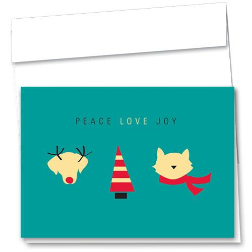 Veterinary Holiday Cards - Simple Joy