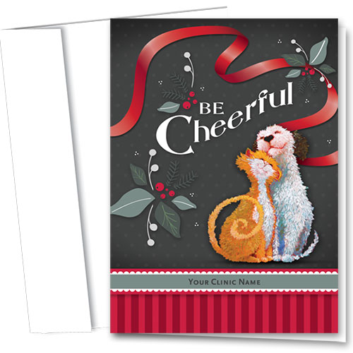 Veterinary Holiday Cards - Be Cheerful