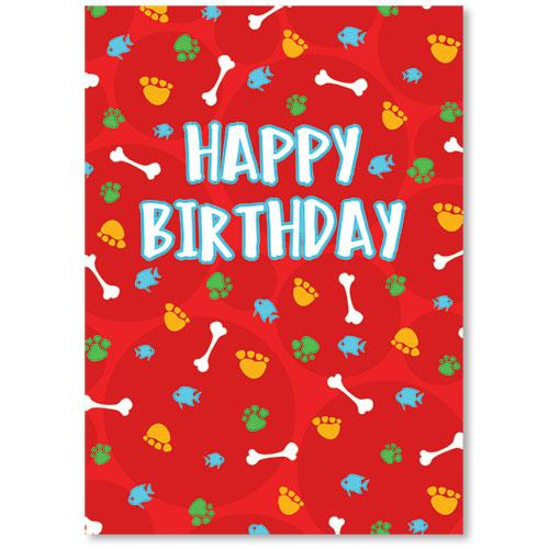 Standard Veterinary Birthday Postcards Reminder Party Veterinary