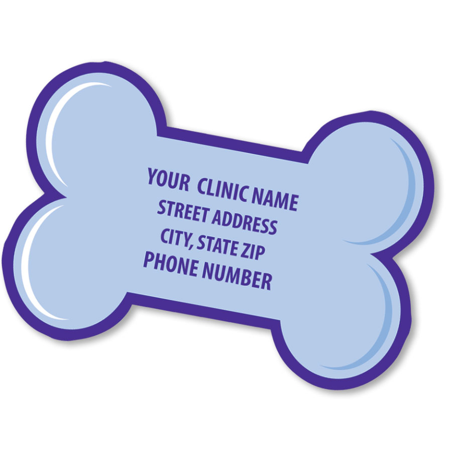 Magnet Bone Shape Veterinary Promotional Products