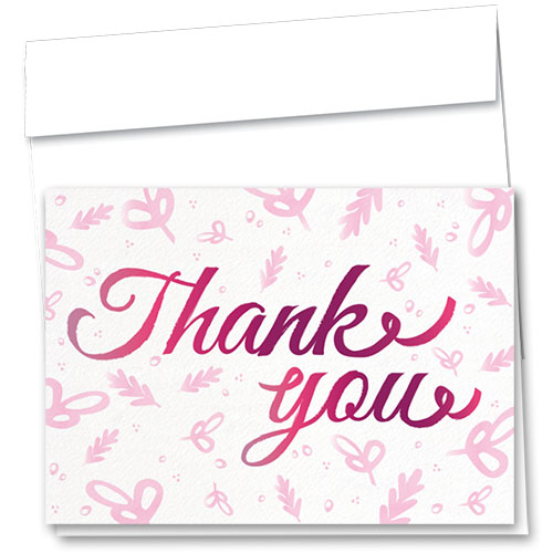 Full-Color Medical Thank You Cards - Signature