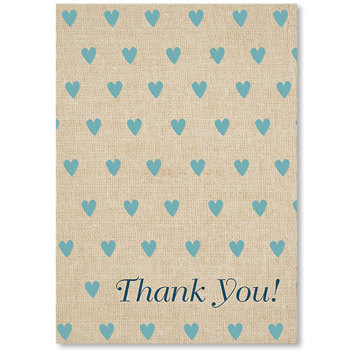 Standard Medical Thank You Postcards - Thank You Hearts