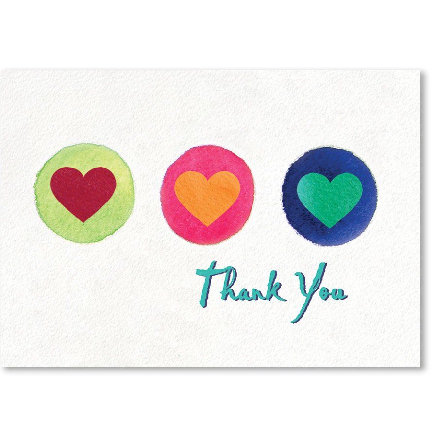 Standard Medical Thank You Postcards - A Bright Thank You