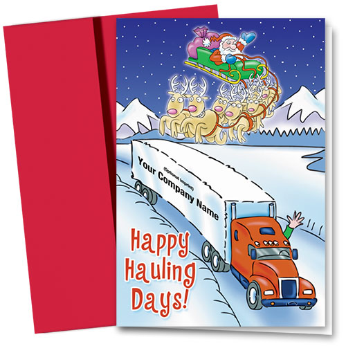 Trucking Christmas Cards - Crossing Paths