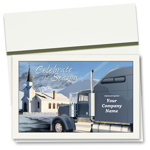 Trucking Christmas Cards - Seasons to Celebrate
