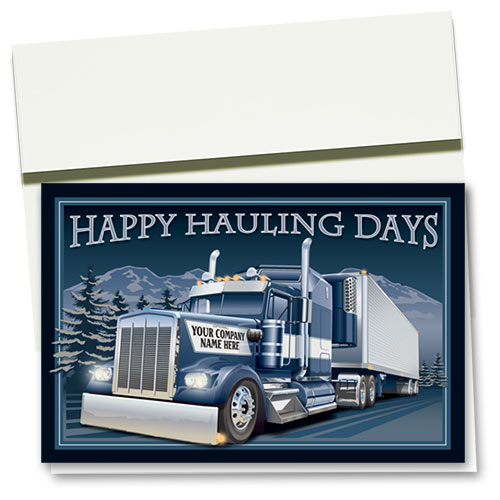 Trucking Christmas Cards -  Sapphire Trucking