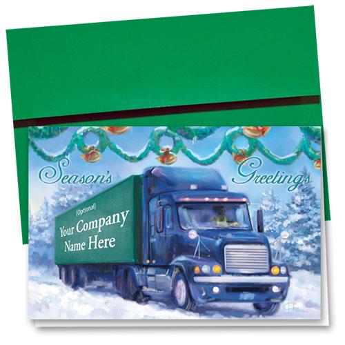 Trucking Christmas Cards - Nostalgic Trucking