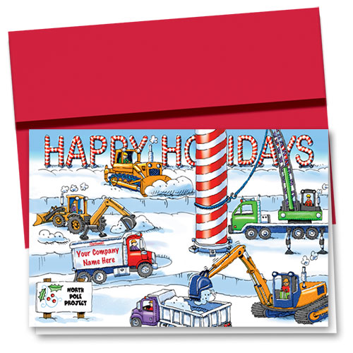 Construction Christmas Cards - Arctic Construction