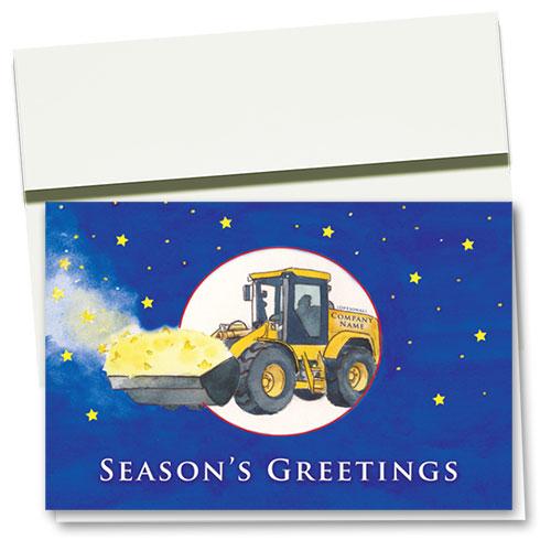 Construction Christmas Cards - Starlight Loader