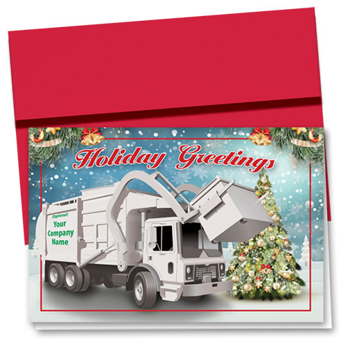 Trucking Christmas Cards - Holiday Boost