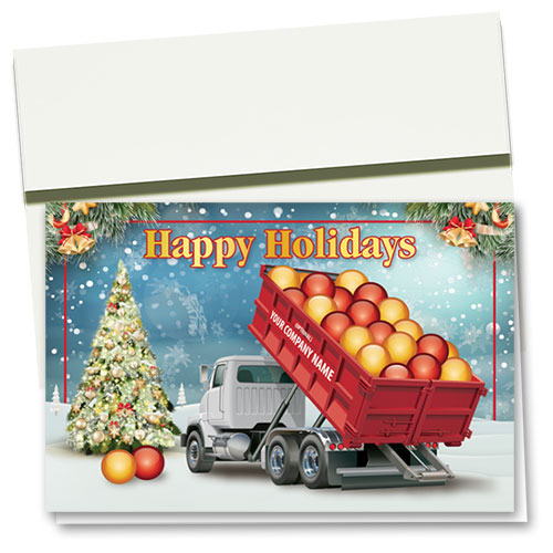 Construction Christmas Cards - Holiday Load
