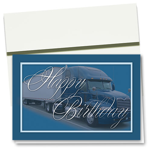Trucker Birthday Cards - Birthday Splendor