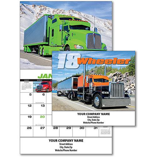 Full-Color Truck Calendars