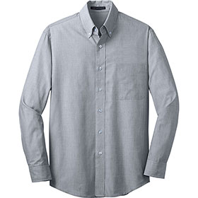 P/A Shirt LS Crosshatch Easy Care