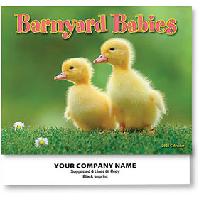 Full-Color Calendars - Barnyard Babies