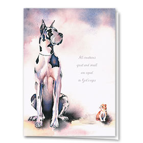 Pet Sympathy Cards - Creatures Great & Small
