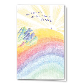 Pet Sympathy Cards - Rainbow Dream