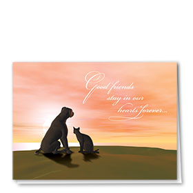 Sympathy Card-Good Friends