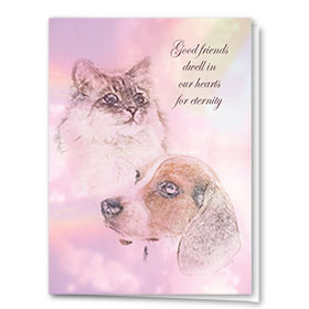 Sympathy Card-Eternity