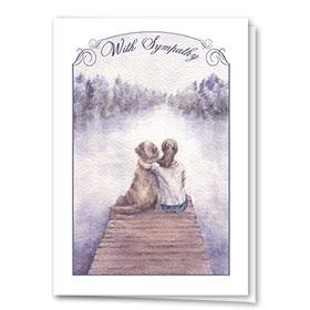 Dog Sympathy Cards - Best Friends