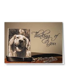 Dog Sympathy Cards - Cherished Keepsake