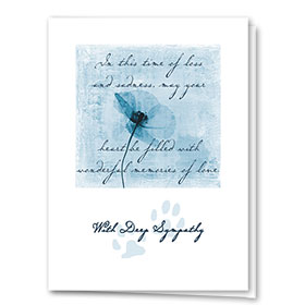Sympathy Card-Wonderful Memories