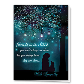 Sympathy Card-Growing Lights